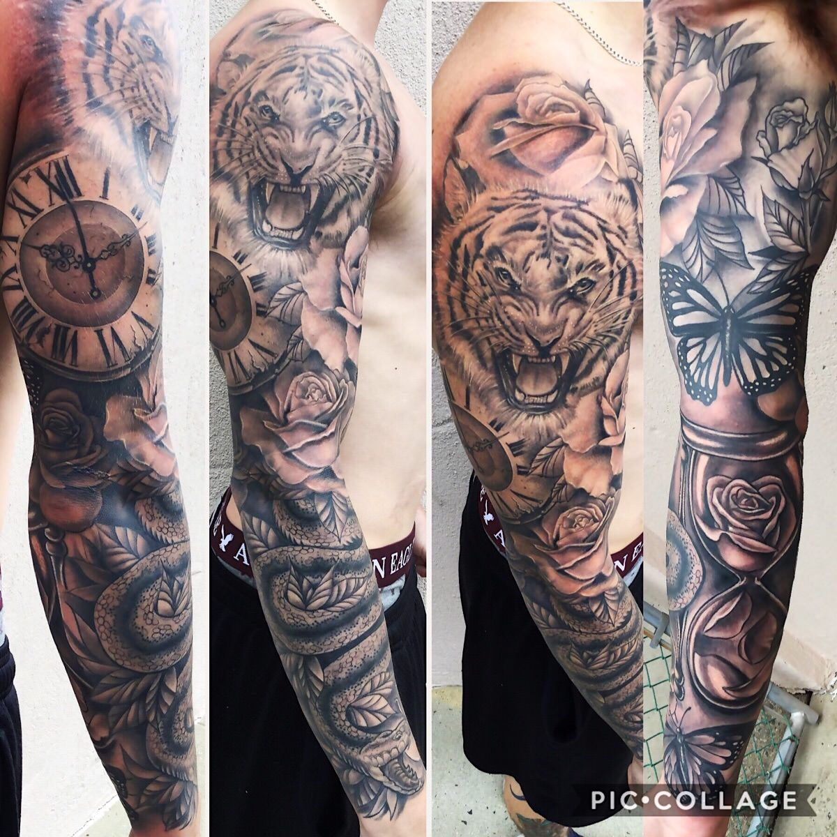 My Sleeve Done By Amanda Nicole At Iron Flag Tattoo In Toms River