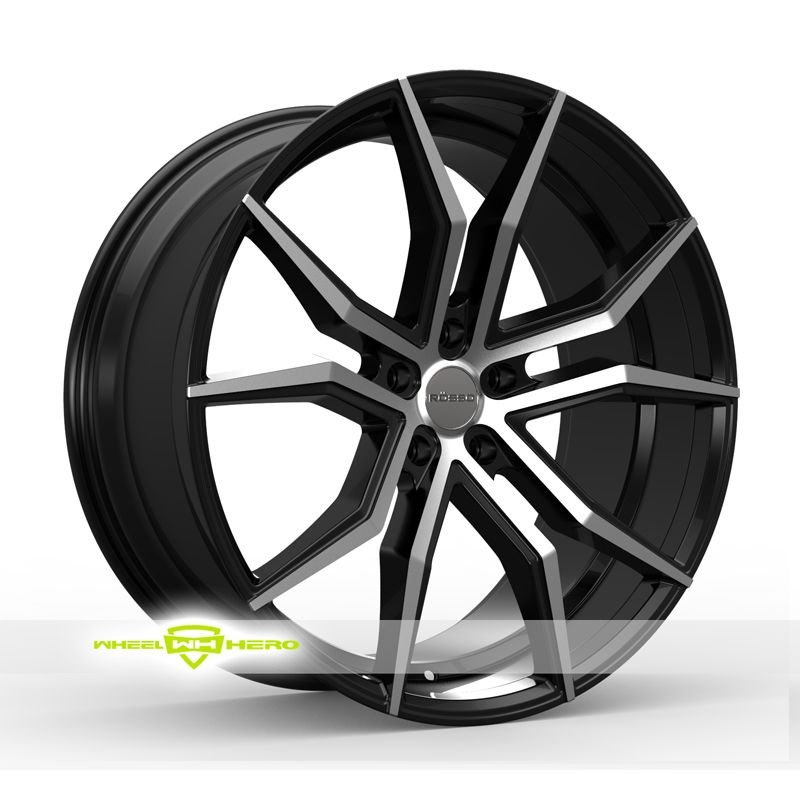 Rosso Icon Machined Black Wheels For Sale Rosso Icon Rims And Tires Wheel Rims Black Wheels Wheel