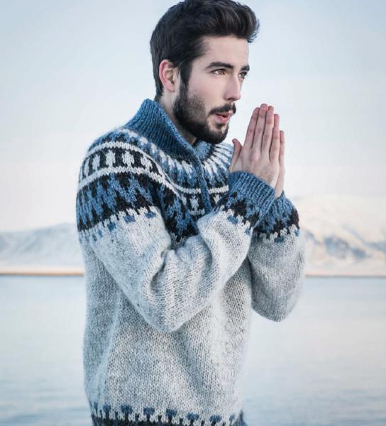 Garri - knitting kit - - Wool Sweaters | Icelandic Knitting Kits ...