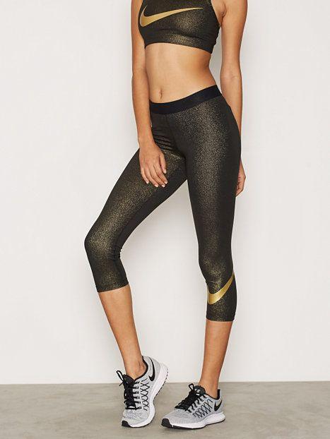 f111318f16 W Np Cool Capri Gold Sport Pants