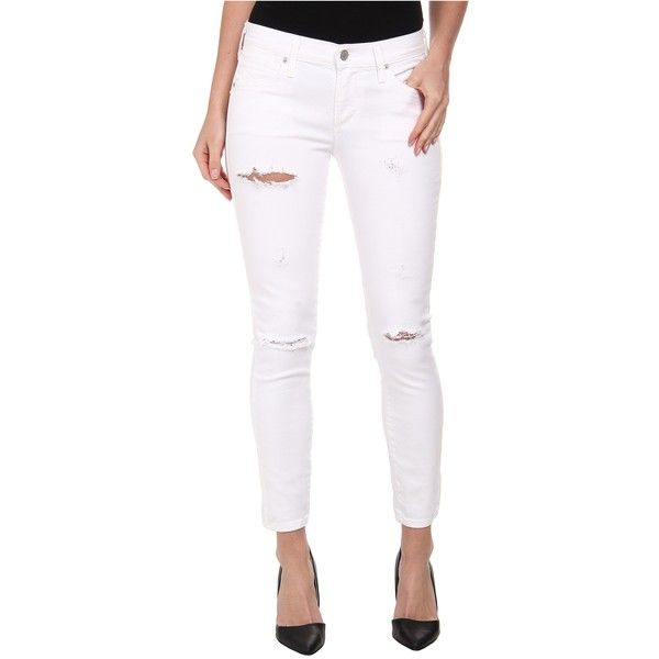 A Gold E Collette Crop Skinny in White A Gold E Ost Release Dates Discount Finishline Buy uwmRCv2