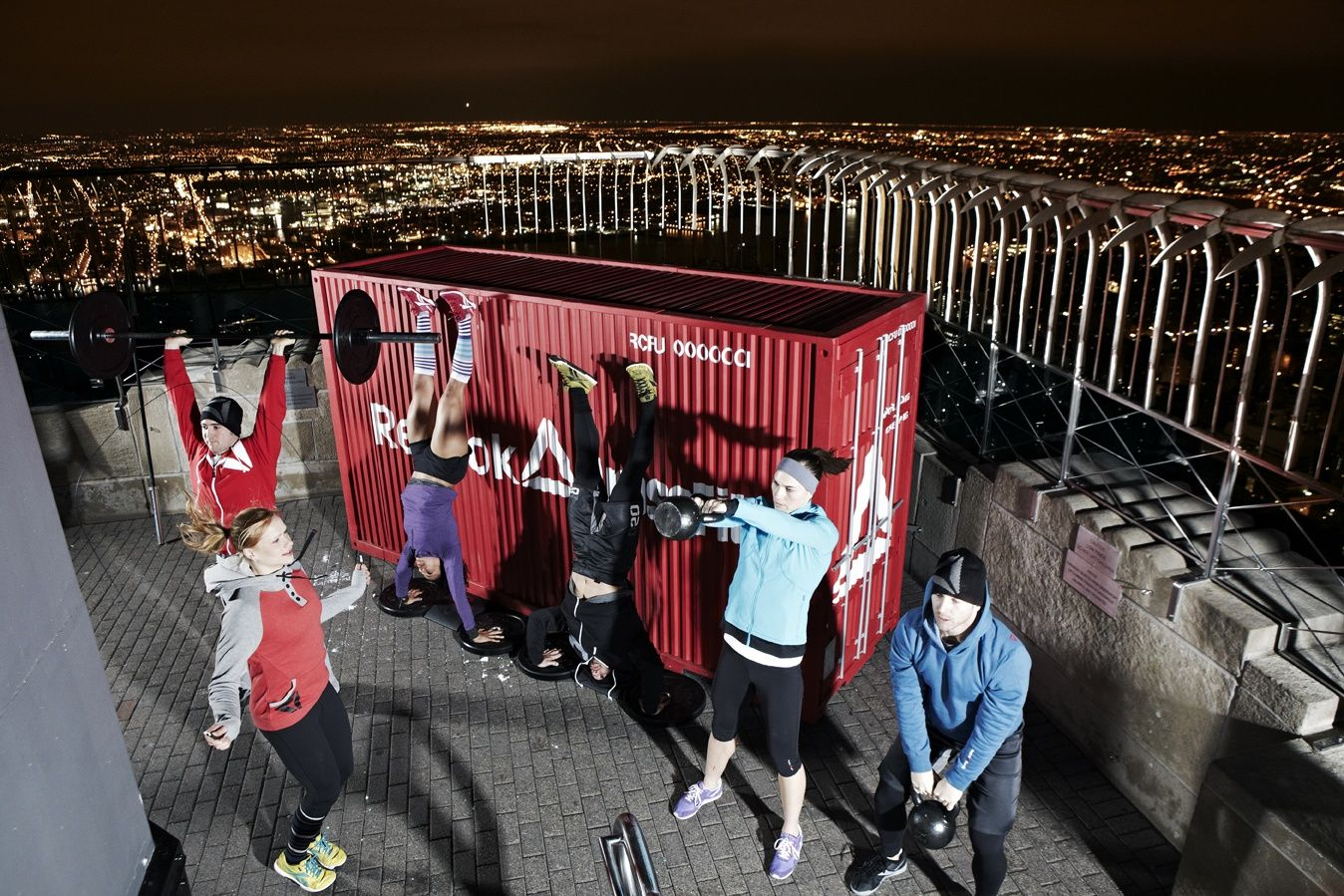 Reebok Stages Spectacular CrossFit Workout Atop Empire