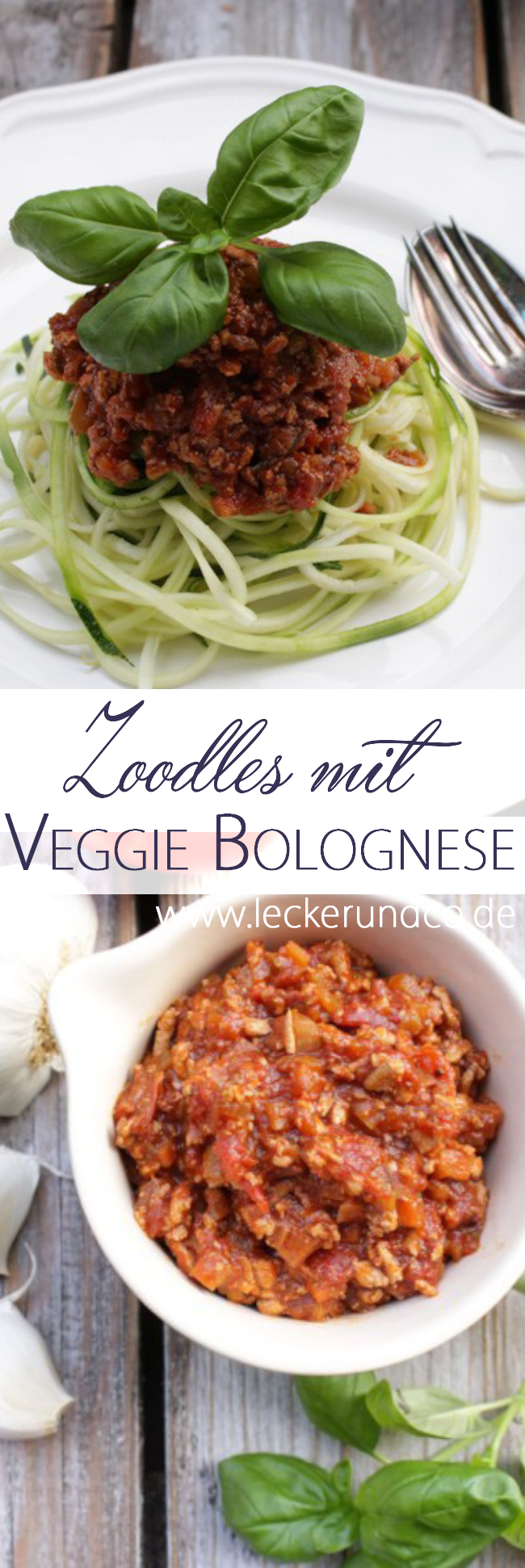 zoodles mit vegi bolognese vegan die besten pasta rezepte pinterest. Black Bedroom Furniture Sets. Home Design Ideas