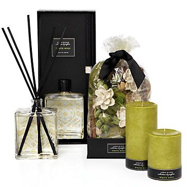 Home Perfume Assortment In White Moss Home Scent Room Fragrances Home Scents Home Decor Store
