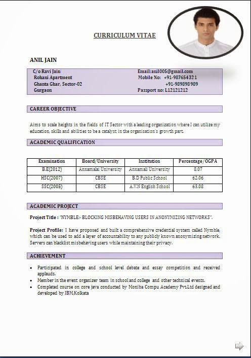 cv maker online sample template example ofexcellent curriculum vitae resume cv format with career - Comprehensive Cv Format