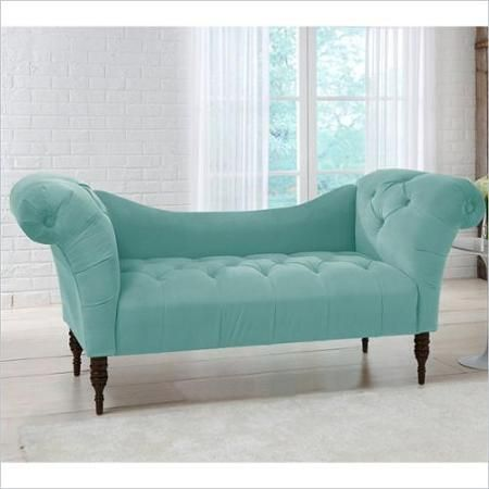 chaise lounge option for reading nook (not curved, but beautiful ...