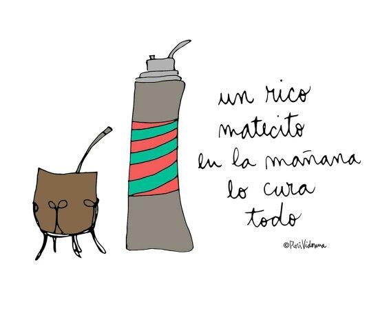 Pin De Romina Romero En Some Nice Quotes Mate Dibujo Frases Argentinas Foto Para Wasap