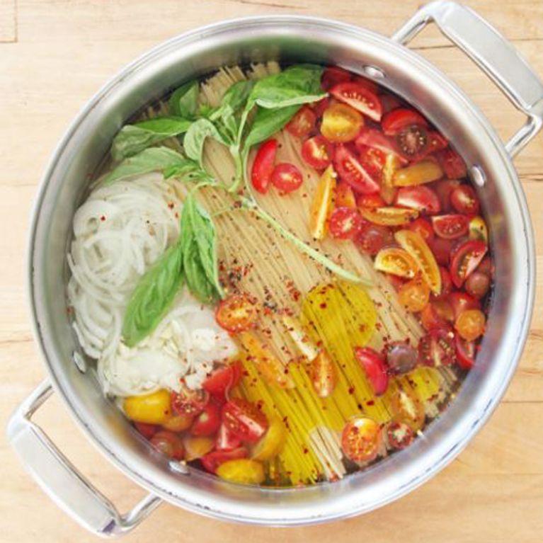 Einfacher geht's nicht: 3 One Pot Pasta Rezepte für die schnelle Feierabend-Küche #easyonepotmeals