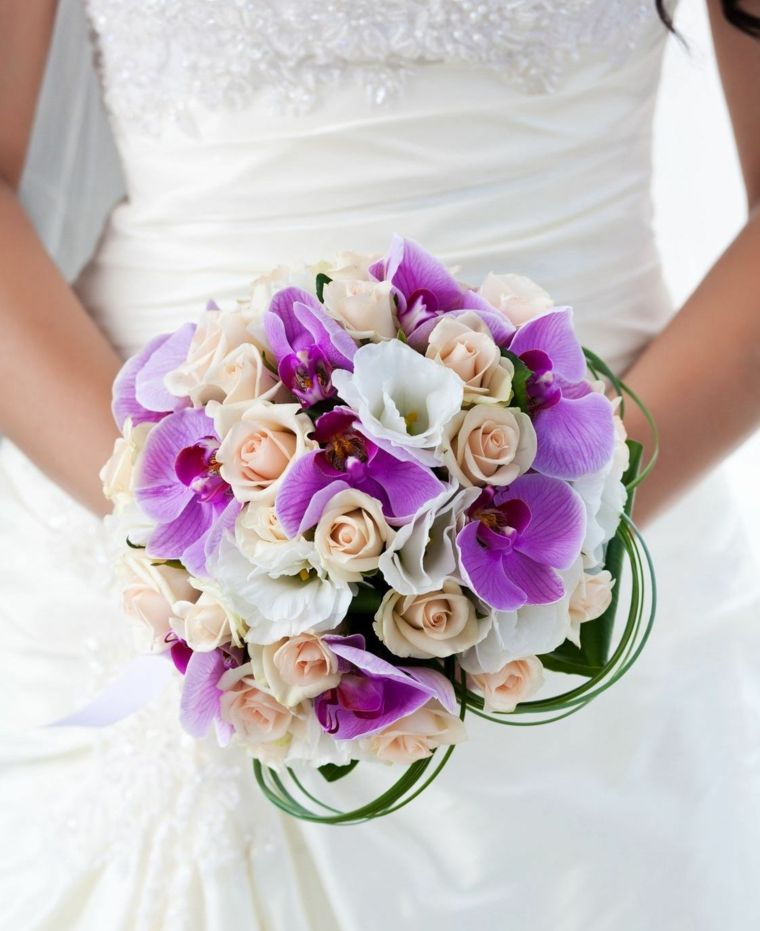 Bouquet Sposa Viola.1001 Idee Di Bouquet Sposa Per Scegliere Un Elemento