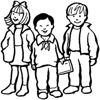 children pictures coloring pages - Children Coloring