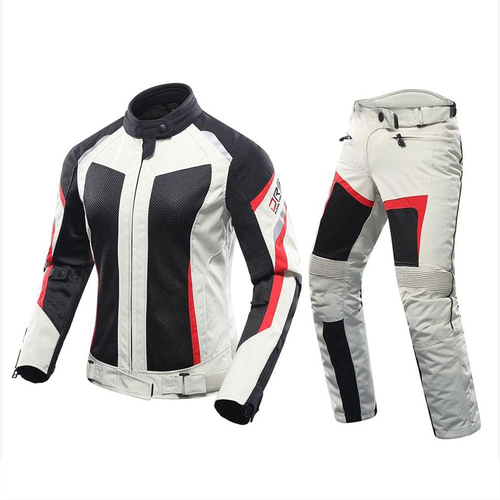 Windproof Breathable Motorcycle Motorbike Racing Cycling Bicycle Armor Jacket
