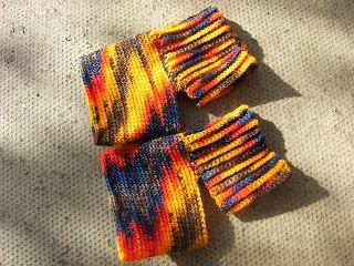Yoga sock # 1 - free crochet pattern by Katherine Mills