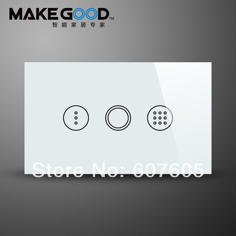 Us model ac110 240v touch glass timer switch wall light switch us model ac110 240v touch glass timer switch wall light switchtime aloadofball Gallery