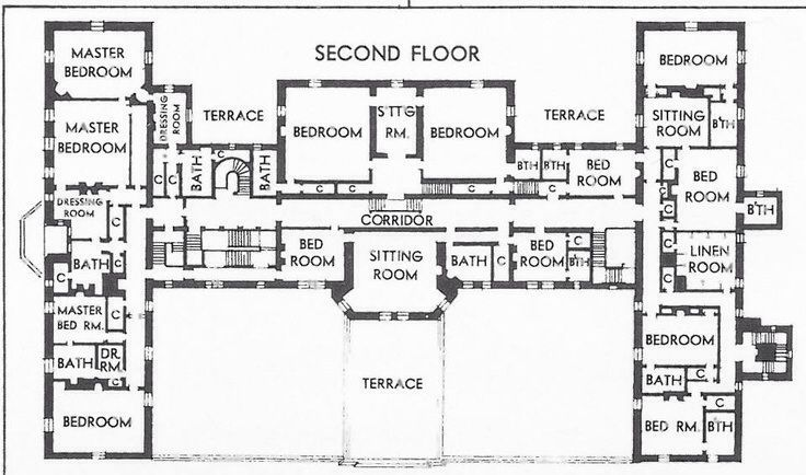 oheka castle floor plans google search - Second Floor Floor Plans