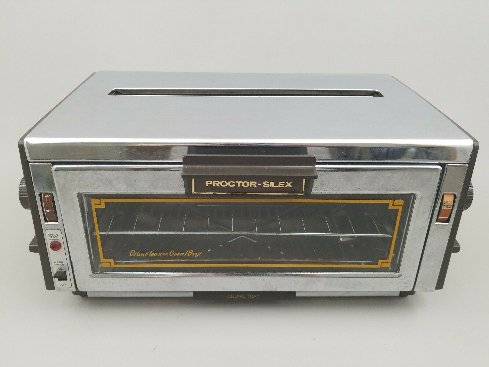Vintage Proctor Silex Deluxe Toaster Oven Broiler Pop Up 0504na Rare Ovens Ideas Of Ovens Ovens With Images Toaster Oven Oven Sale Toaster