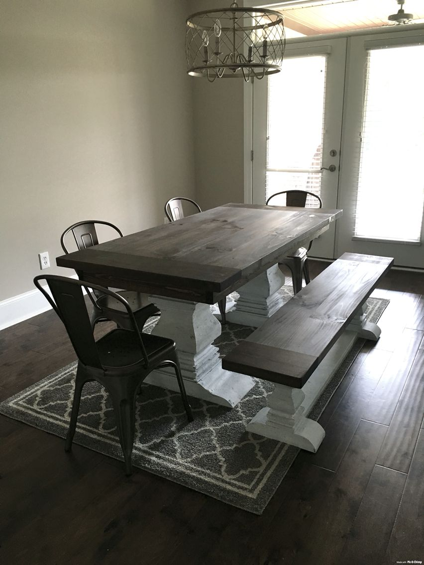 Breakfast nook table and bench by kinfolk builds chairs