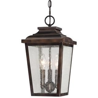 Check out the Minka Lavery 72174-189 Irvington Manor 3 Light Chain Hung in Chelesa Bronze priced at $159.90 at Homeclick.com.
