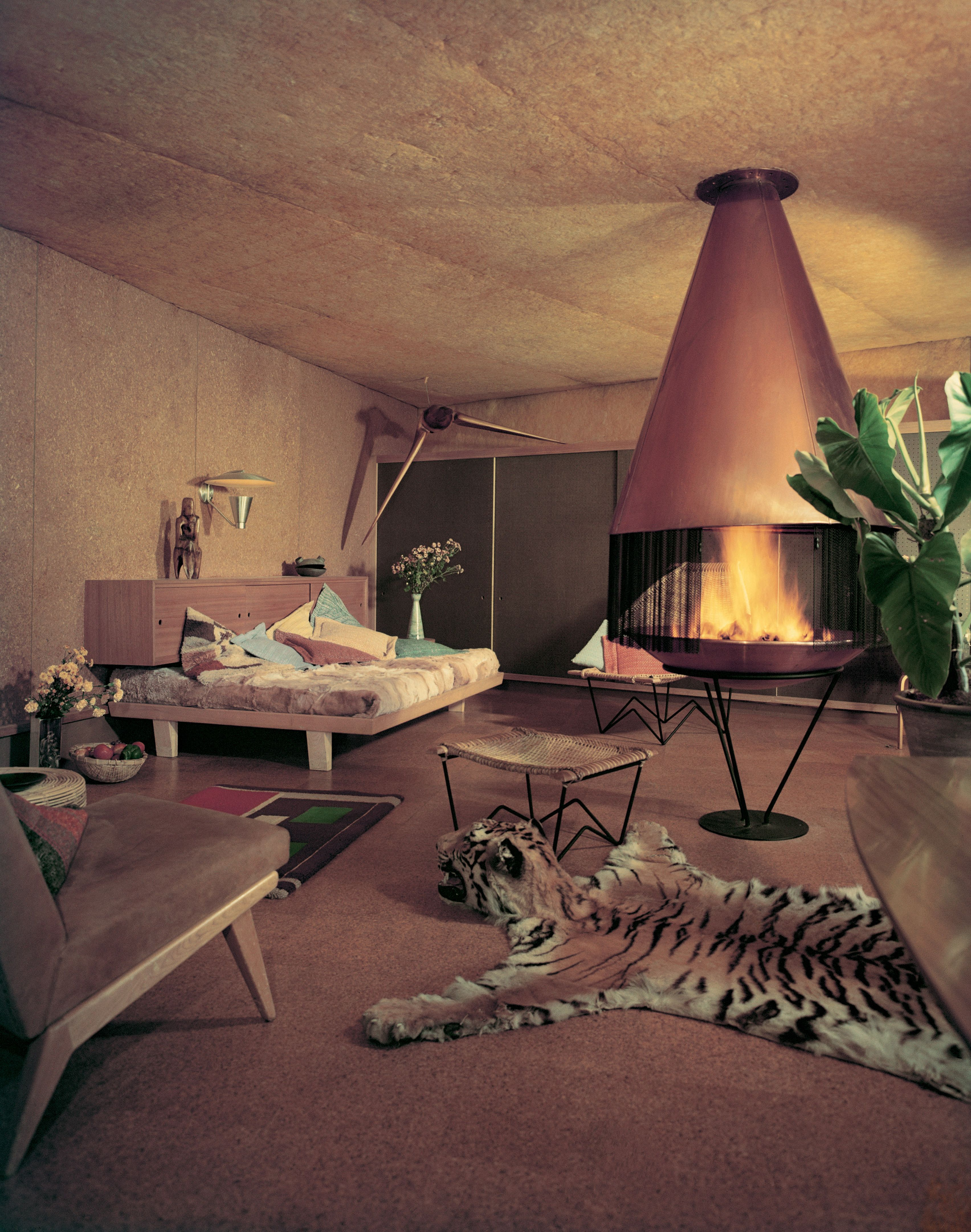 Residence by William Alexander, Los Angeles, California, photographed in 1952