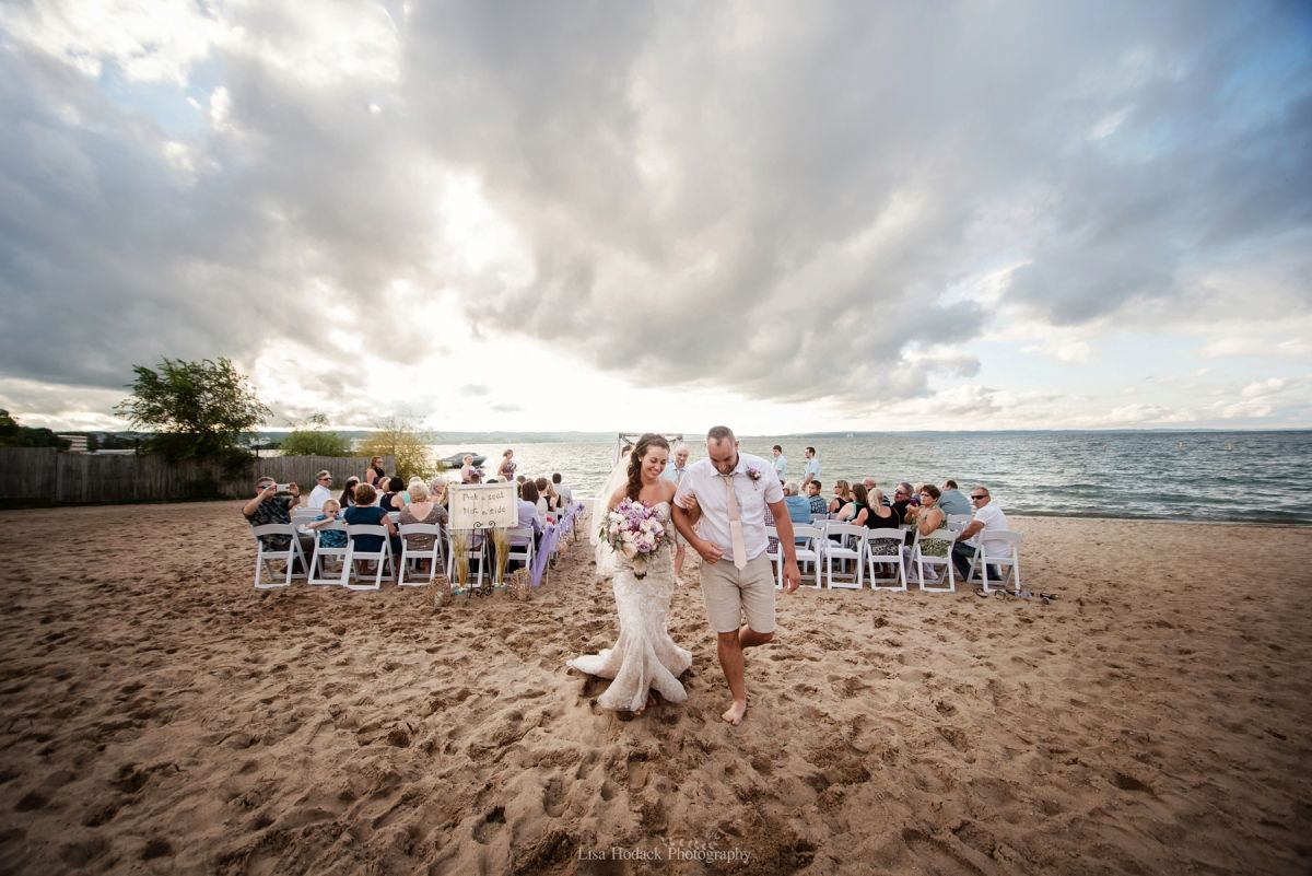 Beach Wedding Ceremonies Weddings Traverse City Michigan Parks Cities Beaches