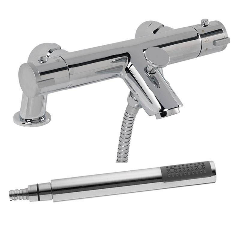 Thermostatic Bath Shower Mixer Wall Or Surface Mount With Sealant