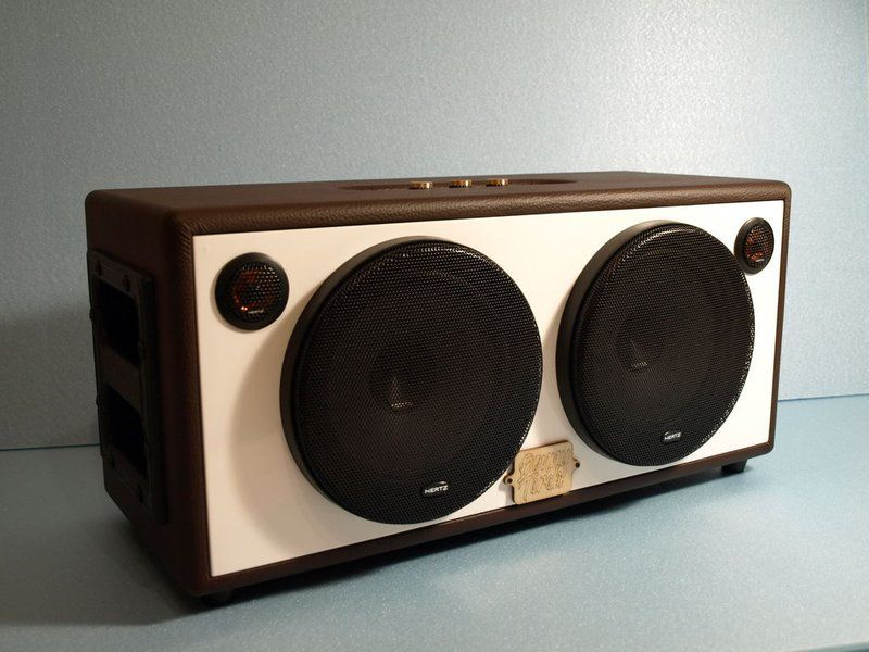 Diy Bluetooth Boombox Speaker Enceinte Bluetooth