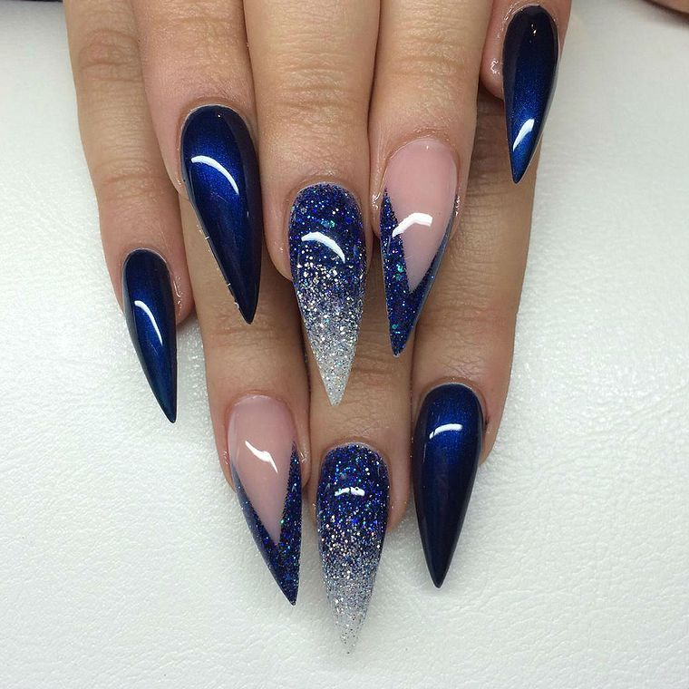Navy Blue Nail Ideas You May Not Have Tried. blue nails