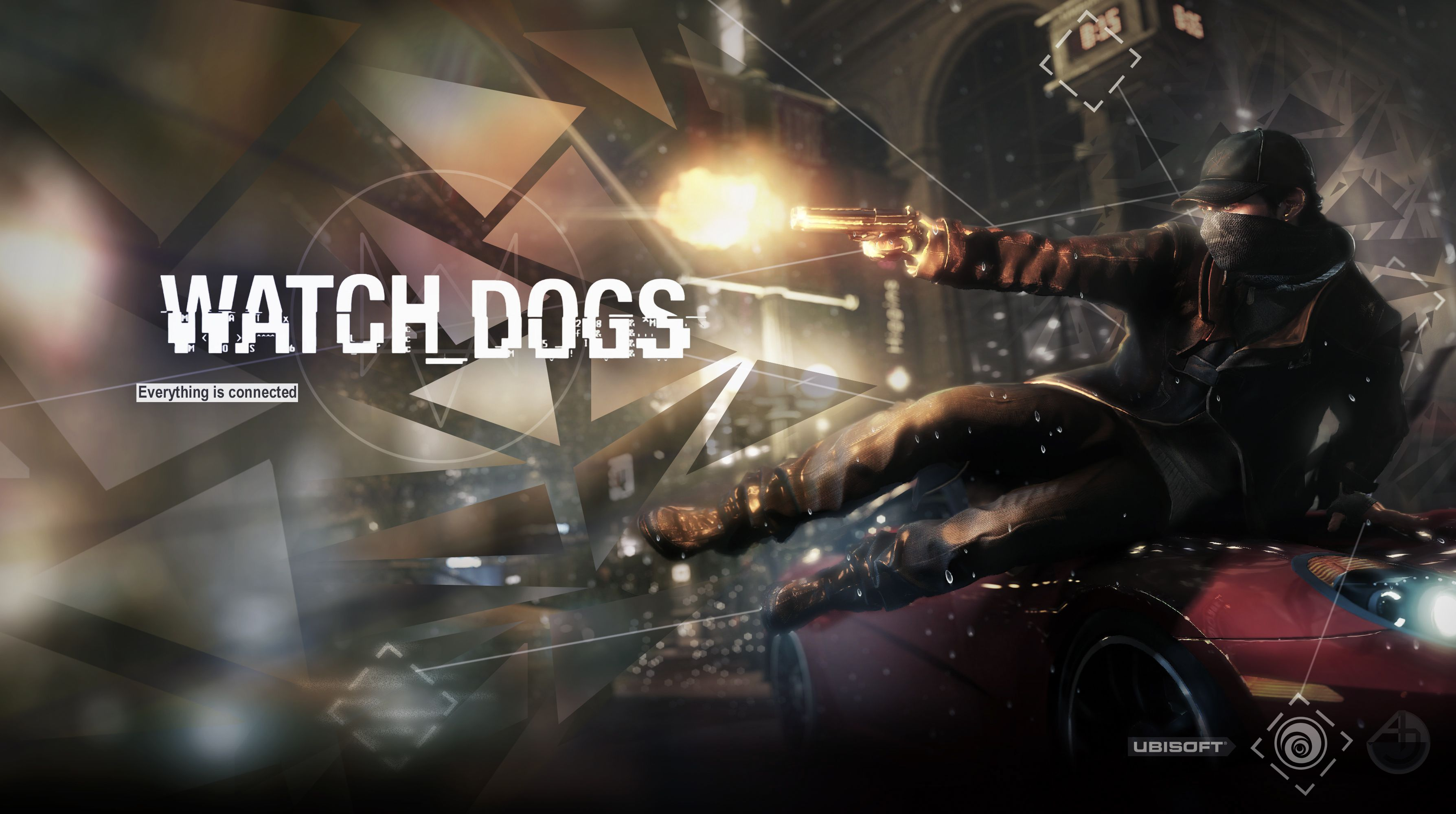 Aiden Pearce Watchdogs Hd Desktop Wallpaper Widescreen High