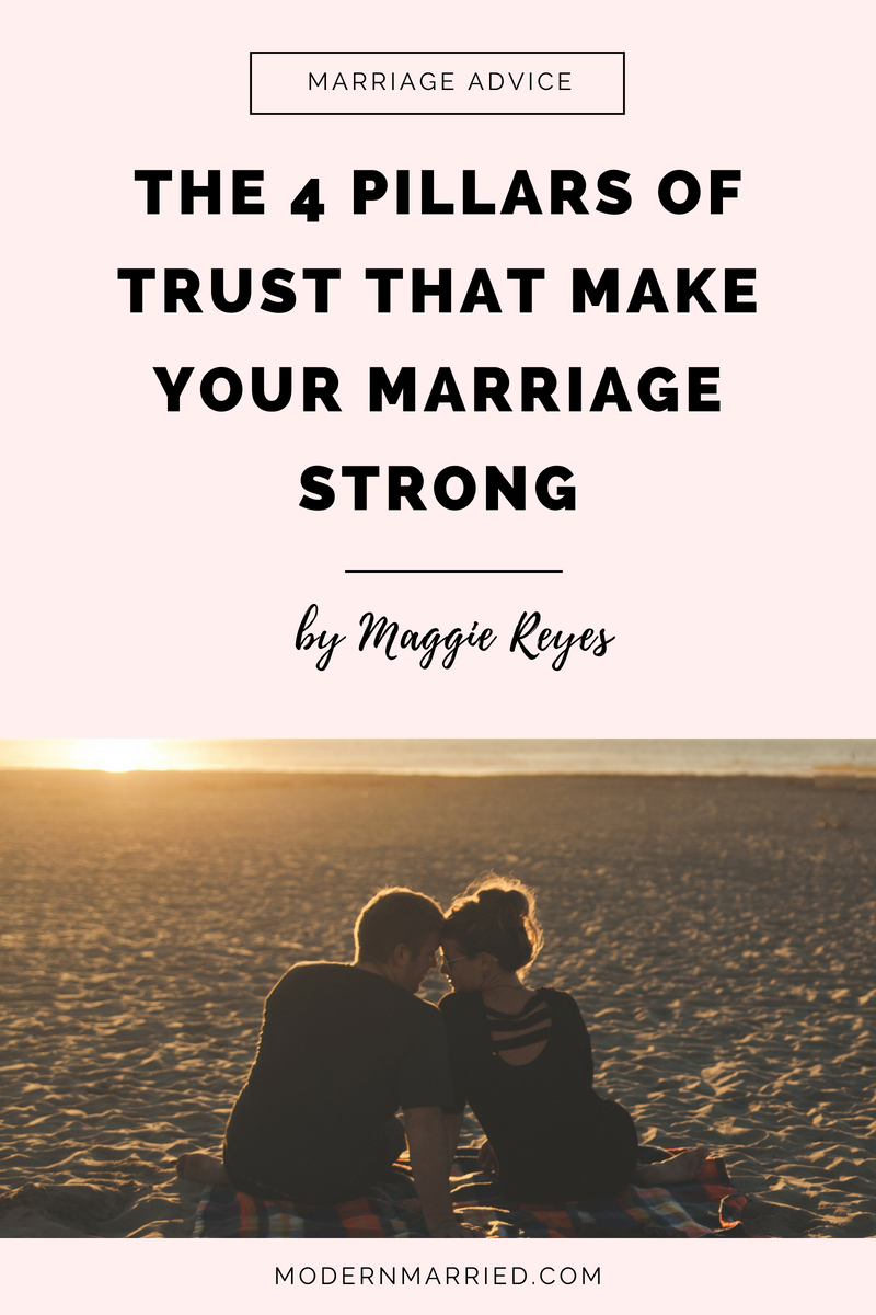 Four pillars of a strong marriage