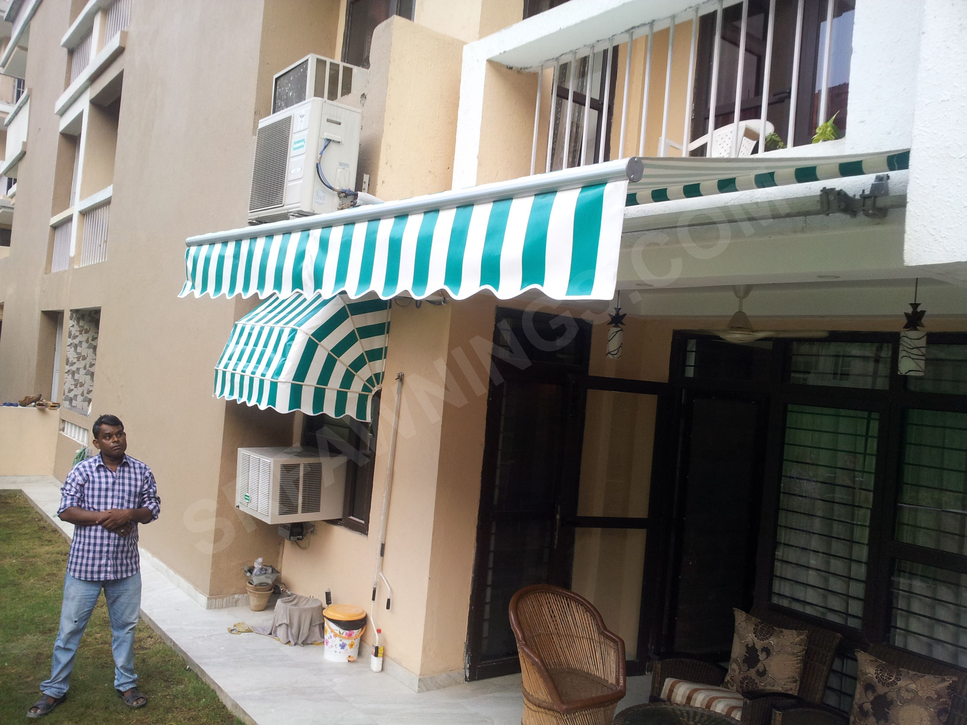 We Are Manufacturer And Supplier Of Retractable Awnings In Gurgaon, Delhi  NCR. The Offered