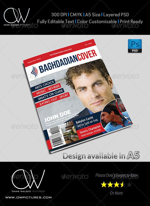 news magazine cover template pinterest magazine cover template