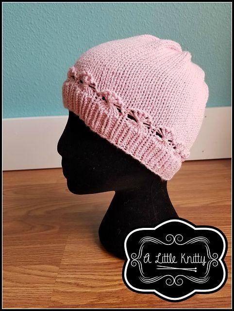 cancer cap knitting pattern