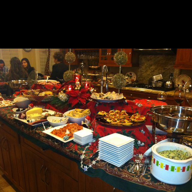 christmas appetizer buffet2 party ideas christmas. Black Bedroom Furniture Sets. Home Design Ideas