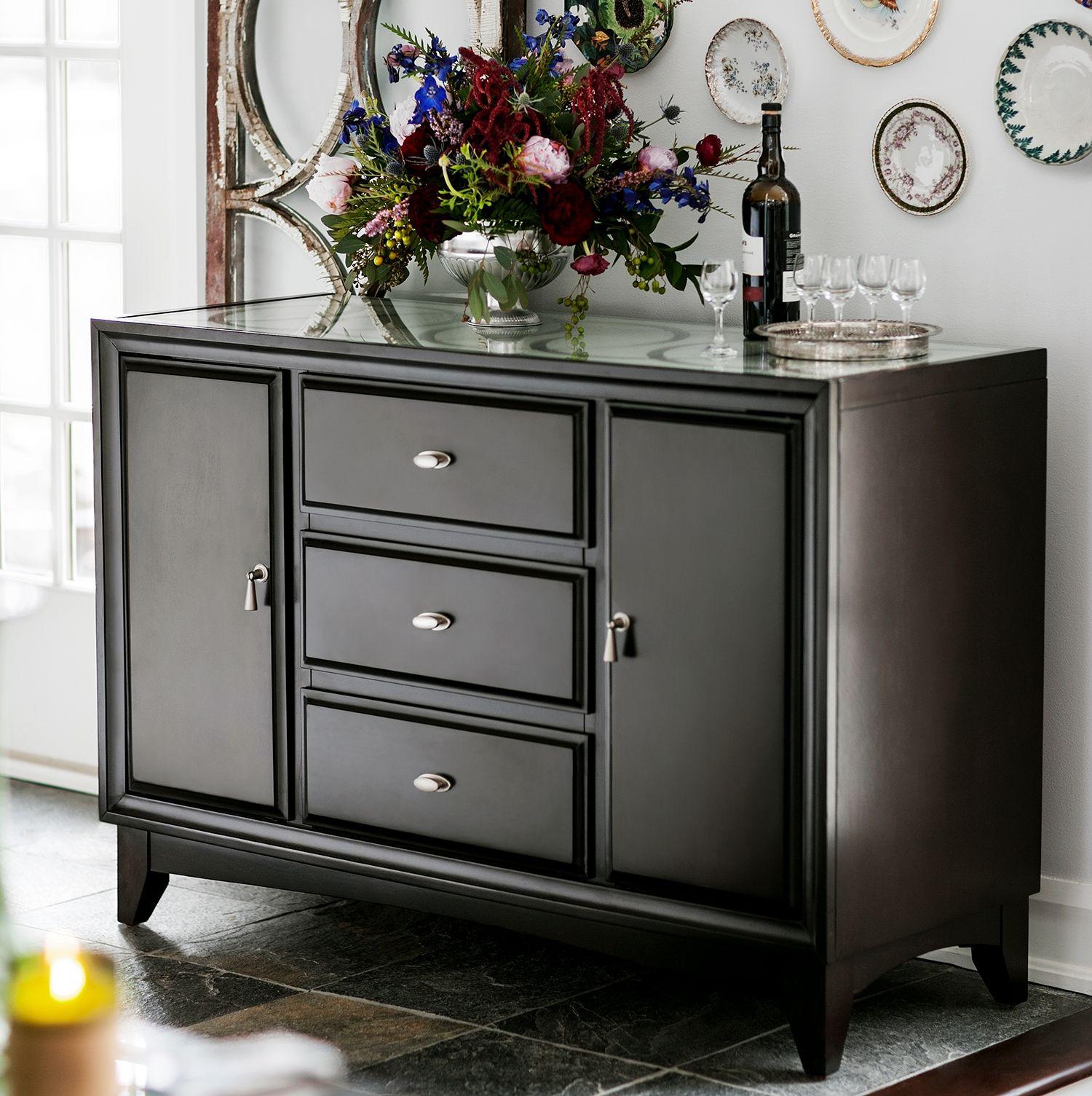 Cosmo Sideboard Furniture, Dining room sideboard, Ashley