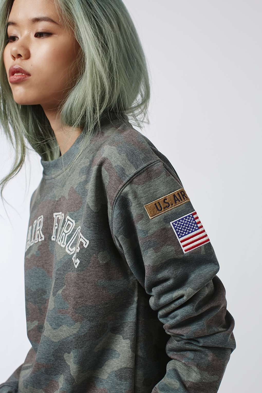 US Army Camo Sweat by Tee & Cake Army clothes, Us army