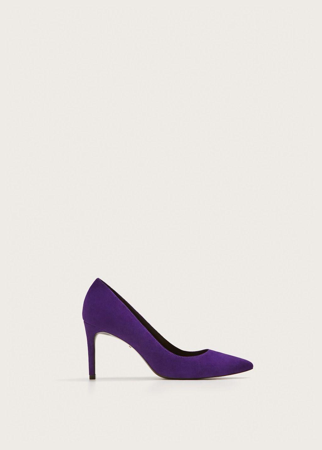 Leather Pumps Plus Sizes Violeta By Mango United Kingdom Tallas Grandes Calzas Violeta By Mango
