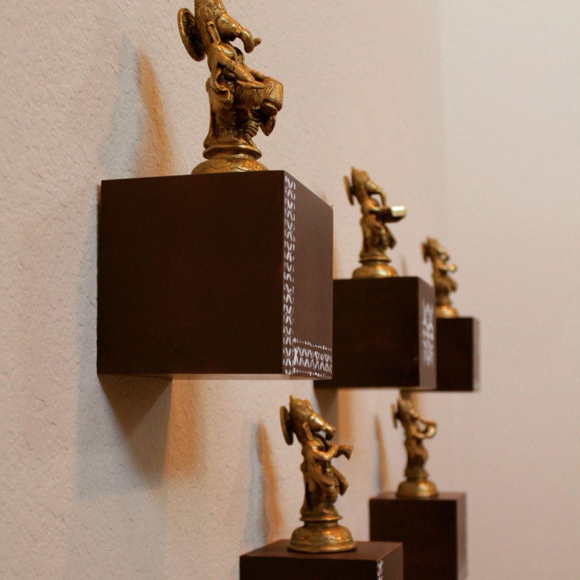 Brass Collections. Brass Deities. Indian. Home Decor