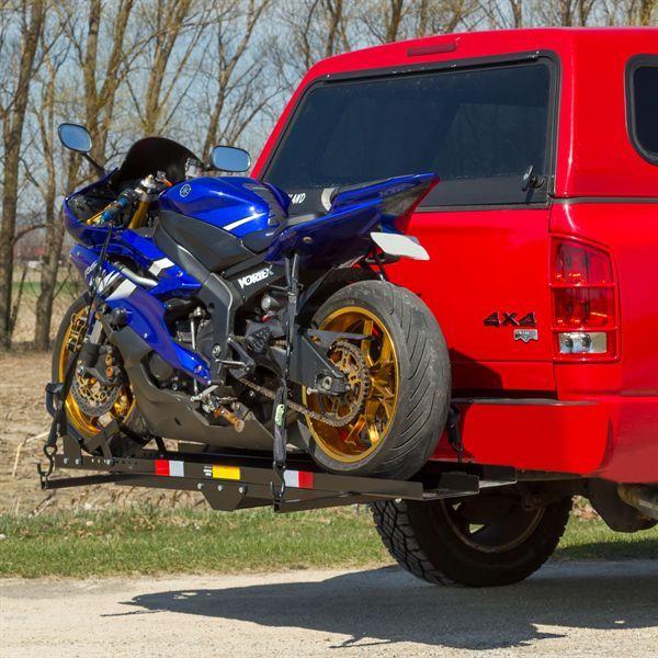 Black Widow Heavy Duty Steel Motorcycle Carrier 600 Lbs
