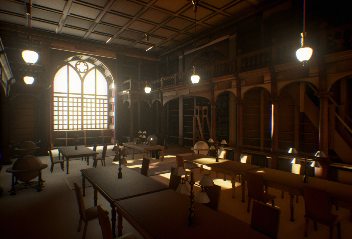 How to Build Oxford Library in UE4? Oxford library, Game