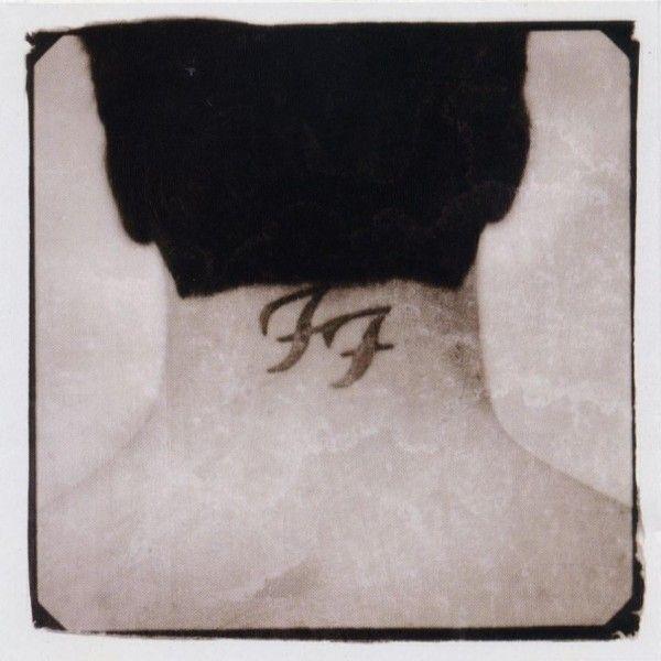 Foo Fighters logo on back neck