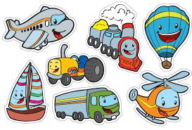 Resultado De Imagen Para Dibujos Infantiles De Medios De Transporte
