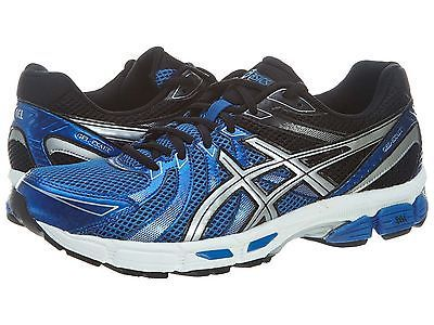 Asics Gel Exalt Mens T329N-5991 Royal Blue Black Athletic Running Shoes Size 8.5