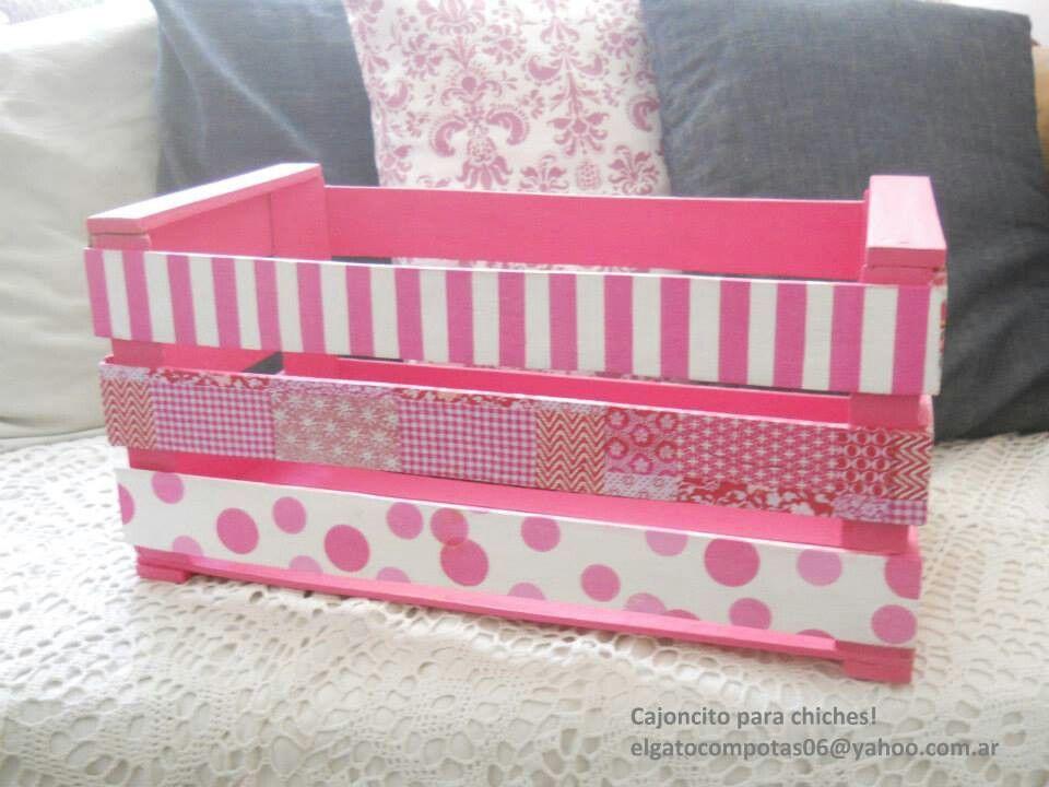 Cajon de verduras craft diy projects pinterest - Cajas decoradas para bebes ...