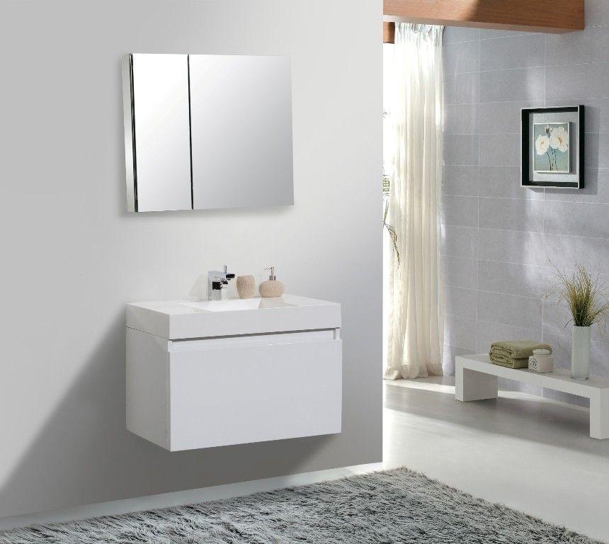 Bathroom Vanities From 31 To 35 Bath Trends Miami Fl Modern Bathroom Cabinets Bathroom Furniture Modern Modern Bathroom