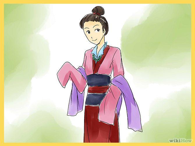 Make a Disney\'s Mulan Costume