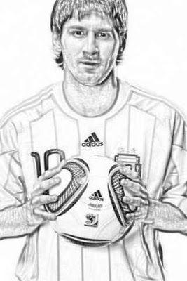 Laminas Para Colorear Coloring Pages Lionel Messi Para Dibujar Y Colorear Dibujos De Colores Futbol Para Colorear Messi