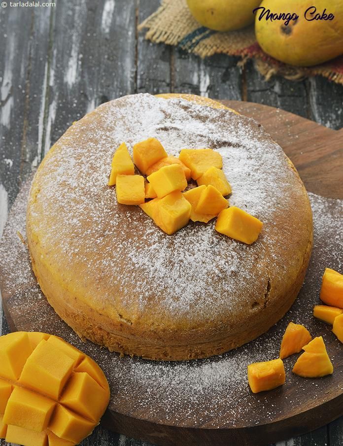 Mango Sponge Cake Mango Cake Recipe Cake Recipes Mango Cake Sponge Cake