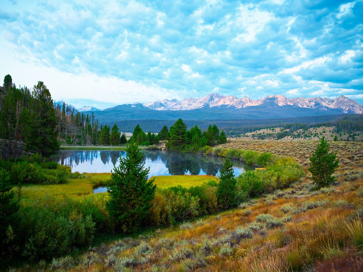 Sawtooth Mountains The Hidden Rockies The Idaho Sawtooths Are As Pretty As Any National Park Minus The Crowds Sawtooth Mountains Mountain Vacations Scenic