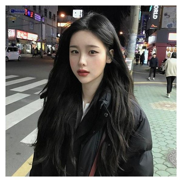Ulzzang Makeup Liked On Polyvore Featuring Beauty Products And Makeup Ulzzang Hair Korean Black Hairstyle Korean Hairstyle