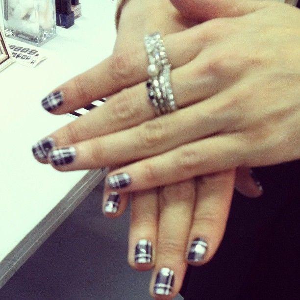 plaid nailwraps by shopncla