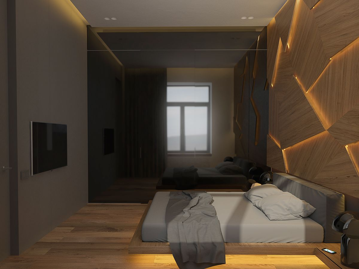 Mens Apartment | Apartments, Bedrooms and Bed headboards